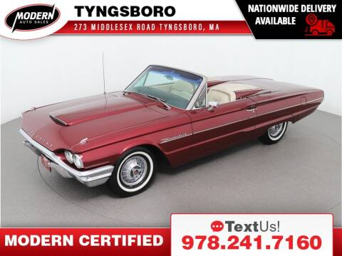 1964 Ford Thunderbird for sale at Modern Auto Sales in Tyngsboro MA