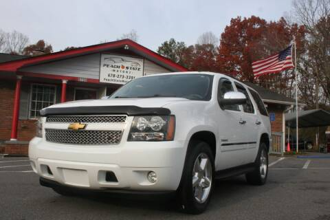 2014 Chevrolet Tahoe for sale at Peach State Motors Inc in Acworth GA