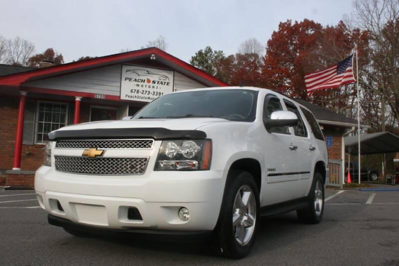 2014 Chevrolet Tahoe for sale at Peach State Motors Inc in Acworth GA