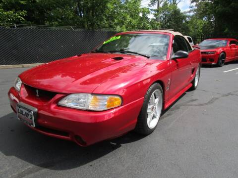 1996 Ford Mustang SVT Cobra for sale at LULAY'S CAR CONNECTION in Salem OR