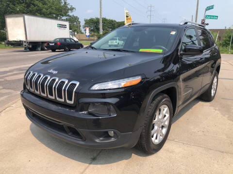 2015 Jeep Cherokee for sale at Champs Auto Sales in Detroit MI