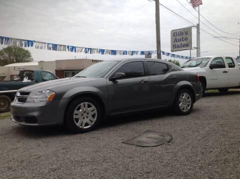 2013 Dodge Avenger for sale at GIB'S AUTO SALES in Tahlequah OK