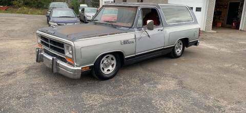 1987 Dodge Ramcharger for sale at Townline Motors in Cortland NY