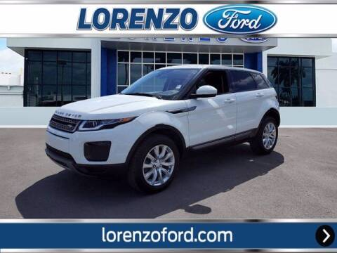 2019 Land Rover Range Rover Evoque for sale at Lorenzo Ford in Homestead FL