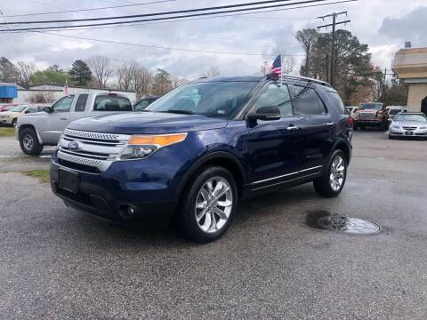 2011 Ford Explorer for sale at Mega Autosports in Chesapeake VA
