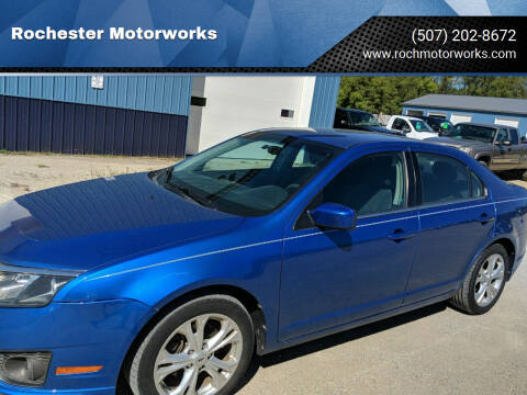 2012 Ford Fusion for sale at Rochester Motorworks in Rochester MN