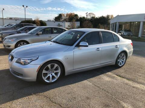 2010 BMW 5 Series for sale at Haynes Auto Sales Inc in Anderson SC