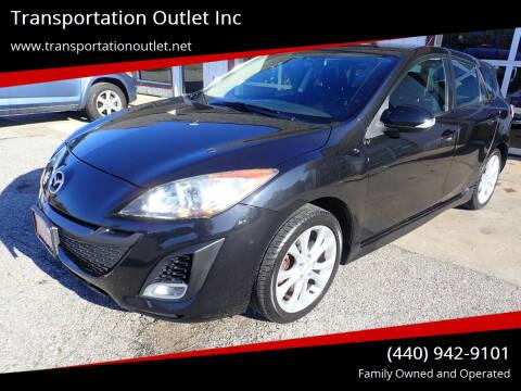 2010 Mazda MAZDA3 for sale at Transportation Outlet Inc in Eastlake OH