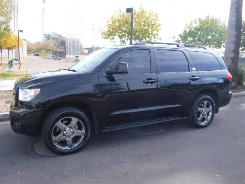 2011 Toyota Sequoia for sale at J & E Auto Sales in Phoenix AZ