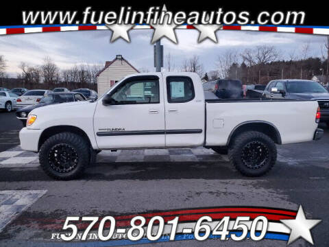 2003 Toyota Tundra for sale at FUELIN FINE AUTO SALES INC in Saylorsburg PA