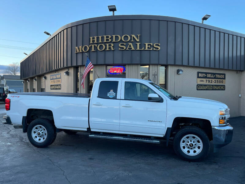 2017 Chevrolet Silverado 2500HD for sale at Hibdon Motor Sales in Clinton Township MI