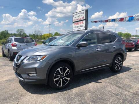 2019 Nissan Rogue for sale at Premier Auto Sales Inc. in Big Rapids MI
