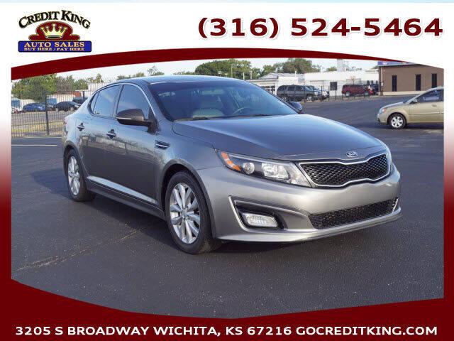 2014 Kia Optima for sale at Credit King Auto Sales in Wichita KS