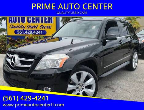 2010 Mercedes-Benz GLK for sale at PRIME AUTO CENTER in Palm Springs FL