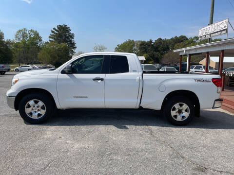 2011 Toyota Tundra for sale at TAVERN MOTORS in Laurens SC