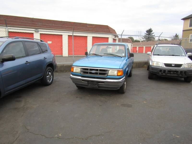 1993 Ford Ranger for sale at ARISTA CAR COMPANY LLC in Portland OR