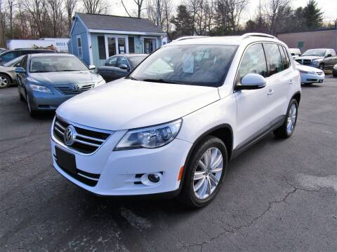 2011 Volkswagen Tiguan for sale at Route 12 Auto Sales in Leominster MA