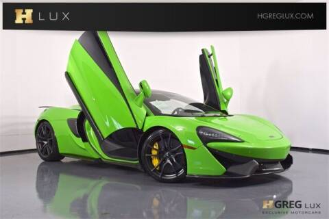 2019 McLaren 570S for sale at HGREG LUX EXCLUSIVE MOTORCARS in Pompano Beach FL