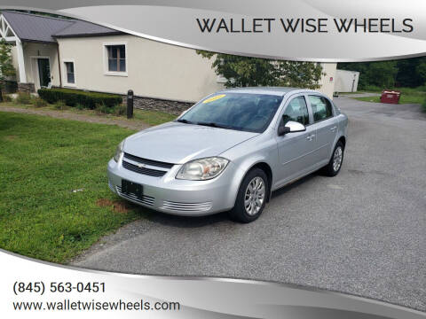 2010 Chevrolet Cobalt for sale at Wallet Wise Wheels in Montgomery NY