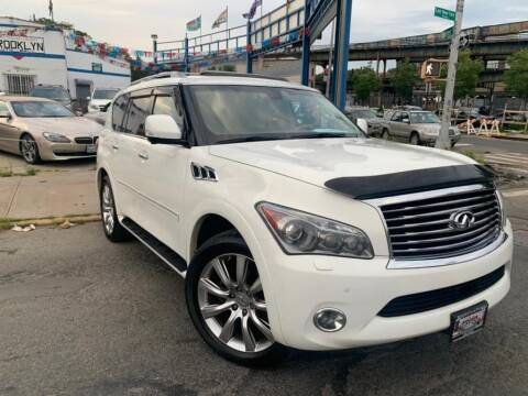 2011 Infiniti QX56 for sale at Excellence Auto Trade 1 Corp in Brooklyn NY