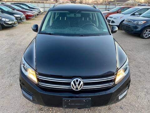 2015 Volkswagen Tiguan for sale at Good Auto Company LLC in Lubbock TX