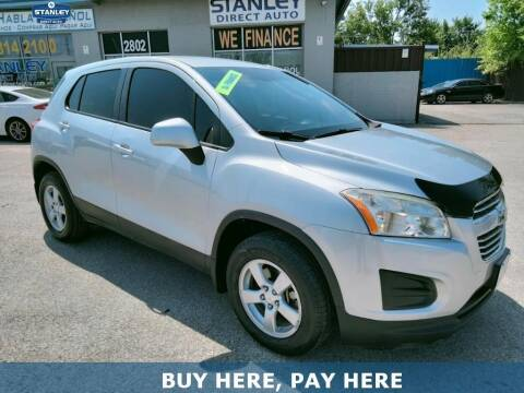 2016 Chevrolet Trax for sale at Stanley Direct Auto in Mesquite TX