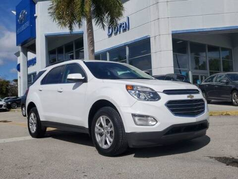 2017 Chevrolet Equinox for sale at DORAL HYUNDAI in Doral FL