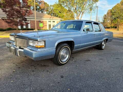 1992 Cadillac Brougham for sale at Classic Car Deals in Cadillac MI