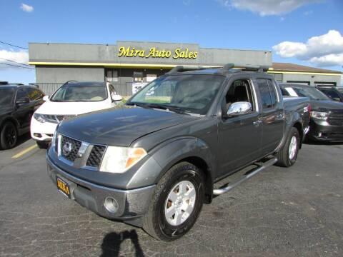2007 Nissan Frontier for sale at MIRA AUTO SALES in Cincinnati OH