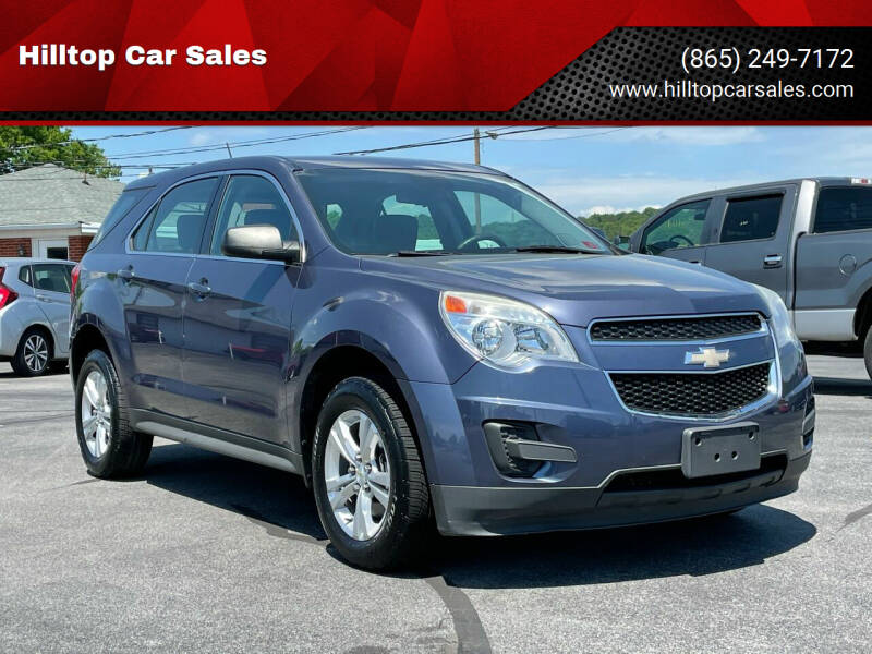 2013 Chevrolet Equinox for sale at Hilltop Car Sales in Knox TN