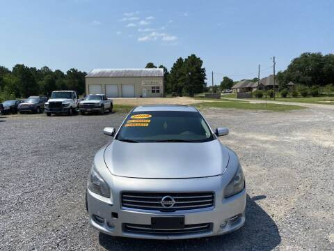 2009 Nissan Maxima for sale at Auto Guarantee, LLC in Eunice LA