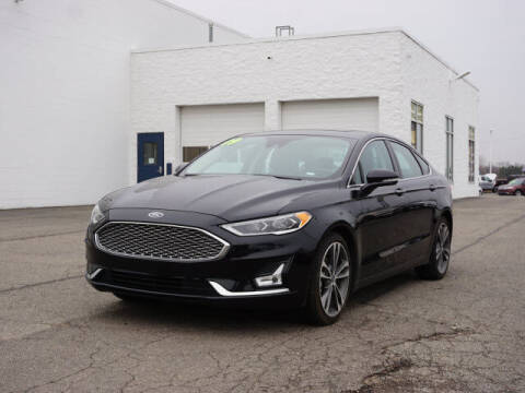 2019 Ford Fusion for sale at FOWLERVILLE FORD in Fowlerville MI