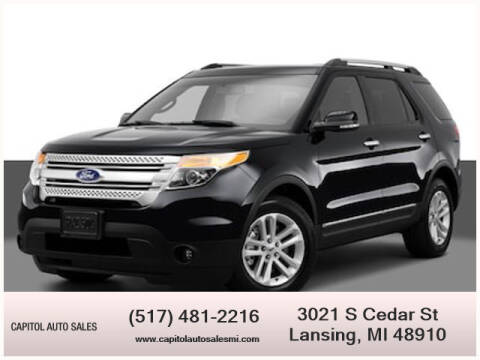 2014 Ford Explorer for sale at Capitol Auto Sales in Lansing MI