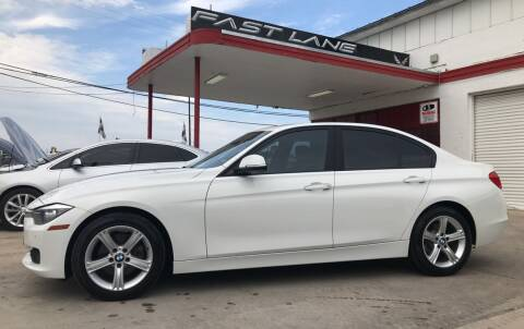 2015 BMW 3 Series for sale at FAST LANE AUTO SALES in San Antonio TX