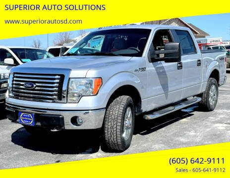 2010 Ford F-150 for sale at SUPERIOR AUTO SOLUTIONS in Spearfish SD