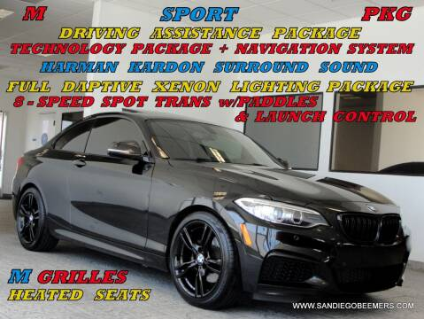 2015 BMW 2 Series for sale at SAN DIEGO BEEMERS in San Diego CA