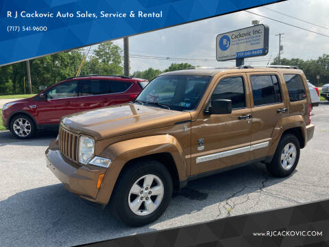 2011 Jeep Liberty for sale at R J Cackovic Auto Sales, Service & Rental in Harrisburg PA