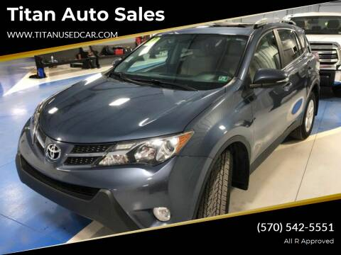 2014 Toyota RAV4 for sale at Titan Auto Sales in Berwick PA