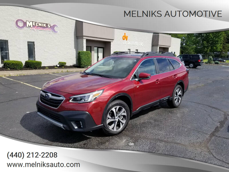 2020 Subaru Outback for sale at Melniks Automotive in Berea OH