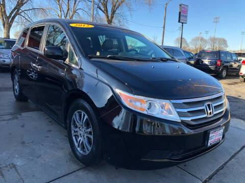 2012 Honda Odyssey for sale at Direct Auto Sales in Milwaukee WI