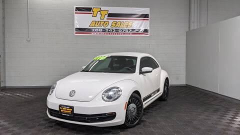 2013 Volkswagen Beetle for sale at TT Auto Sales LLC. in Boise ID