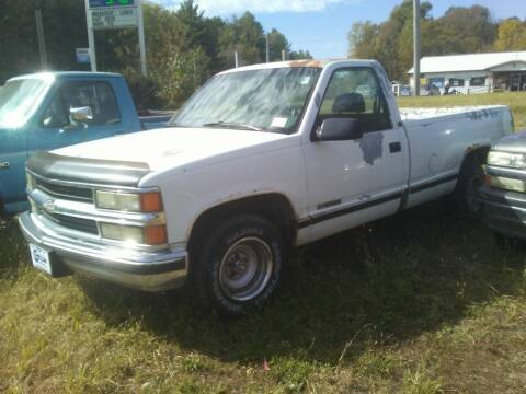 1995 GMC Sierra 1500 for sale at New Start Motors LLC - Rockville in Rockville IN