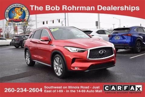 2020 Infiniti QX50 for sale at BOB ROHRMAN FORT WAYNE TOYOTA in Fort Wayne IN