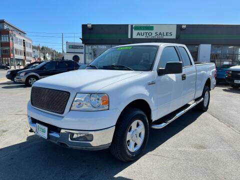 2004 Ford F-150 for sale at Wakefield Auto Sales of Main Street Inc. in Wakefield MA