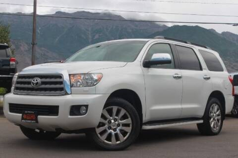 2012 Toyota Sequoia for sale at REVOLUTIONARY AUTO in Lindon UT