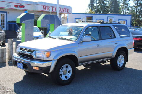 2002 Toyota 4Runner for sale at BAYSIDE AUTO SALES in Everett WA