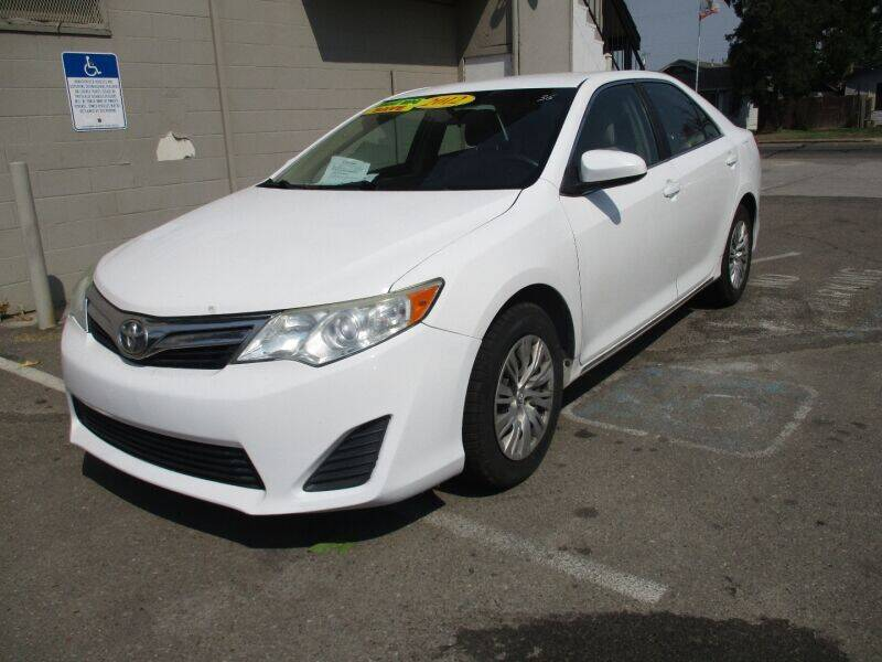 2012 Toyota Camry for sale at Grace Motors in Manteca CA