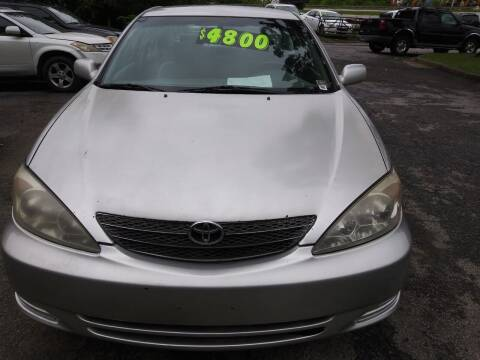 2004 Toyota Camry for sale at Moreland Motorsports in Conley GA