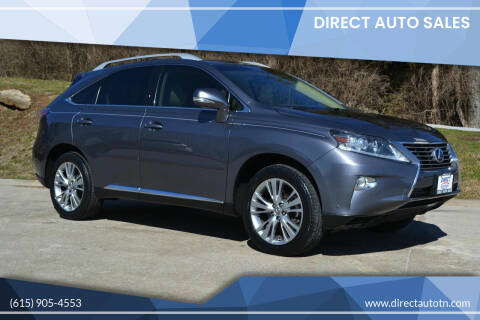 2013 Lexus RX 350 for sale at Direct Auto Sales in Franklin TN