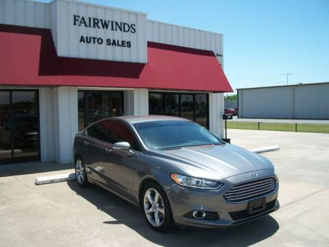 2013 Ford Fusion for sale at Fairwinds Auto Sales in Dewitt AR
